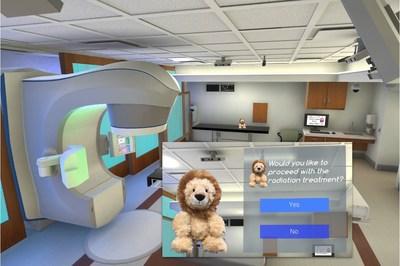 Screenshot from VR Program