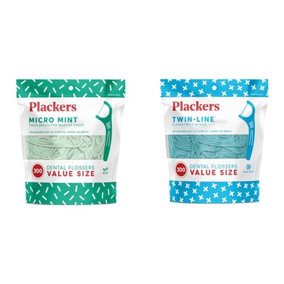 Plackers® Launches New Value-Sized Pack in Micro Mint® and Twin-Line® Varieties