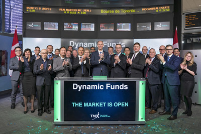 Dynamic Funds Opens the Market (CNW Group/TMX Group Limited)