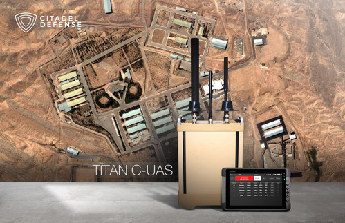 Citadel Defense's Titan counter drone technology is deployed to provide U.S. military services with critical force protection in areas where commercially available drones are threatening safety of troops and infrastructure.