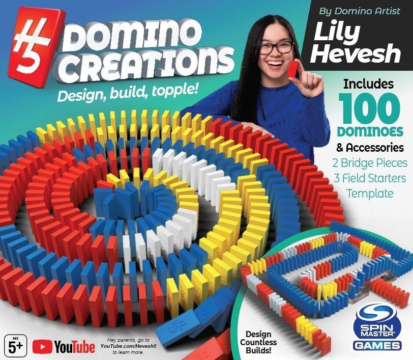 Spin Master Reveals H5 Domino Creations Tm With An Epic Topple At The North American International Toy Fair In New York