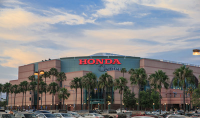 Honda and Anaheim Arena Management Agree to 10-Year Naming Rights Extension of Honda Center Through 2031
