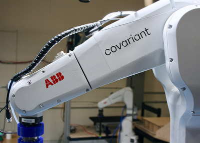 An ABB robot powered by the Covariant Brain