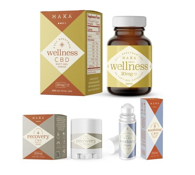 MAKA Active Lifestyle CBD. MAKA Wellness. MAKA Recovery. MAKA Soothing. Pure, potent, portable.