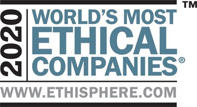 Kimberly-Clark has been named to Ethisphere's 2020 list of the World's Most Ethical Companies. This is the fifth time for Kimberly-Clark to receive the honor.