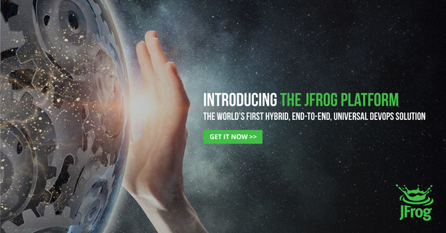 JFrog Launches World's First Hybrid, End-to-End, Universal DevOps Platform