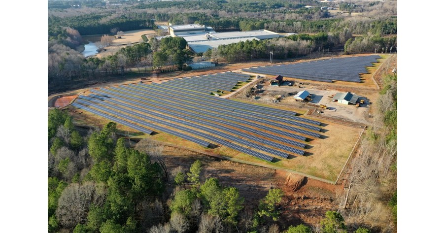 Kimberly-Clark, United Renewable Energy® LLC and NextEra Energy Resources Team Up to Construct Solar Project in LaGrange, Georgia
