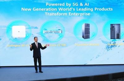 Qiu Heng, presidente de Marketing Global, Huawei Enterprise BG (PRNewsfoto/Huawei)