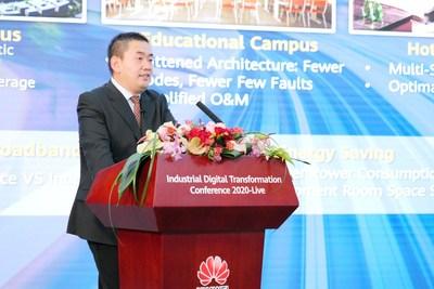 Sun Fuyou, vice-presidente do Huawei Enterprise BG (PRNewsfoto/Huawei)