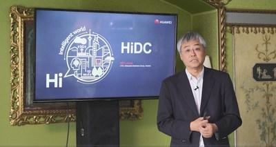 Wing Kin Leung, director general de tecnología de Huawei Enterprise BG (PRNewsfoto/Huawei)