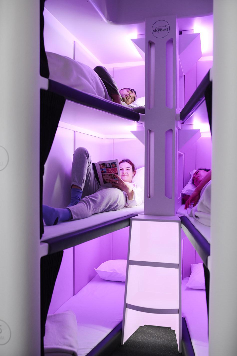 The Economy Skynest. (CNW Group/Air New Zealand)