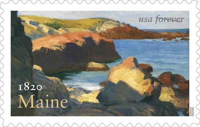 U.S. Postal Service to Issue Maine Statehood Forever Stamp March 15