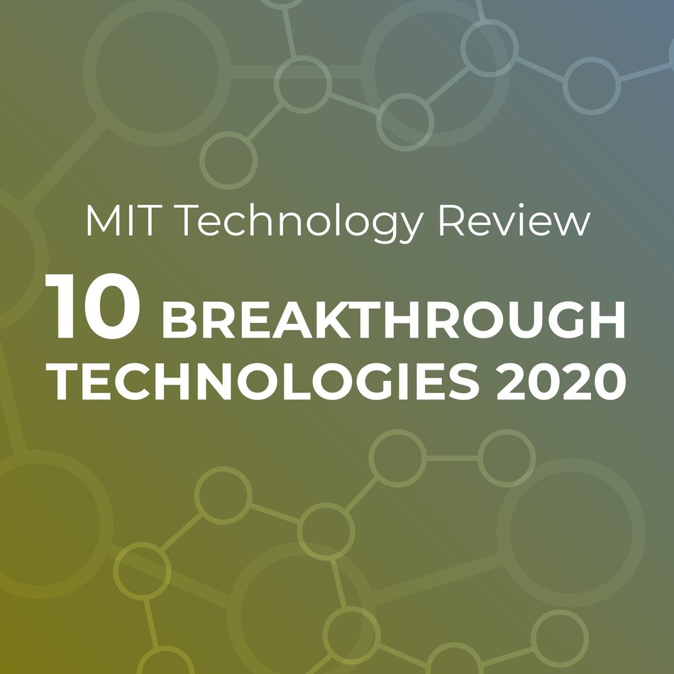 MIT Technology Review selected AI-discovered molecules as a breakthrough of the year with the availability horizon of 3-5 years. Insilico Medicine's research together with the University of Toronto was highlighted.
