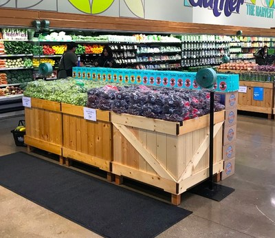 Joolies Display in Produce section at Whole Foods Pacific Coast Highway in El Segundo