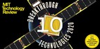 MIT Technology Review Presents 10 Breakthrough Technologies of 2020