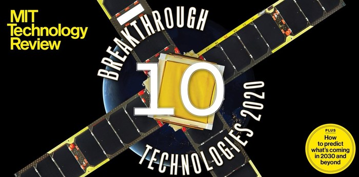 MIT Technology Review announces the 10 Breakthrough Technologies of 2020.