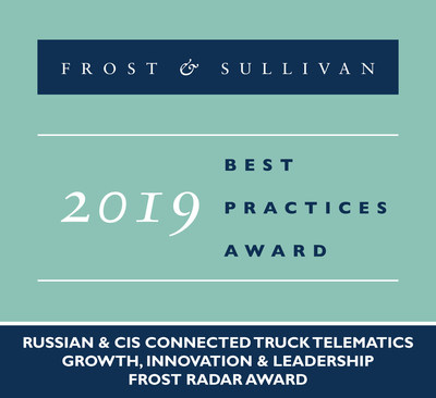 Omnicomm's Pioneership and Innovation-Driven Growth in the Connected Truck Telematics Market Acknowledged by Frost & Sullivan