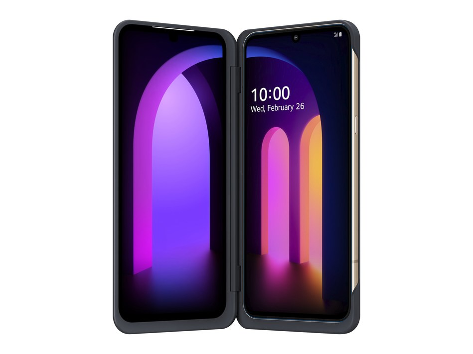 LG announces V60 ThinQ 5G with LG Dual Screen™, designed for a truly mobile future (CNW Group/LG Electronics Canada)