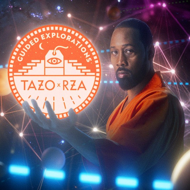 To spread the teachings shared at Camp TAZO: Zen, RZA has drawn upon his own wisdom to create an exclusive audio experience. This 5-track collection will guide listeners on their journeys to creative enlightenment, anytime, anywhere.