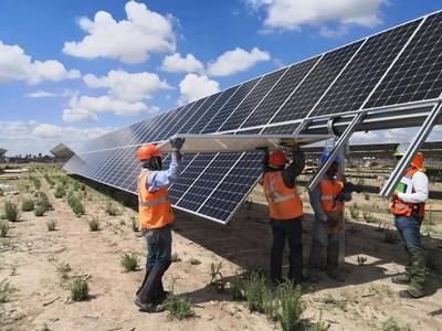 A LONGi fortalece sua presença no México com 191 MW para a usina FV Pachamama (PRNewsfoto/LONGi Solar)