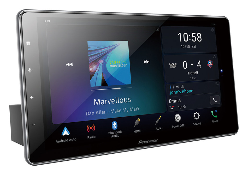 New Pioneer 1-DIN DMH-ZF9350BT