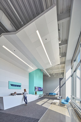Interior: Veoneer Lobby, Designed by HED