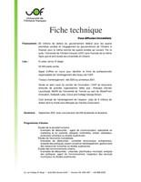 Fiche technique (Groupe CNW/Université de l'Ontario français (UOF))
