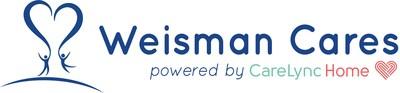Weisman Cares powered by CareLync Home logo