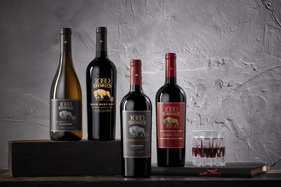 The 1000 Stories collection includes Zinfandel, Gold Rush Red, Prospectors' Proof Cabernet Sauvignon and a Chardonnay, each crafted in batches and aged in bourbon barrels to convey a uniquely American story.
