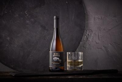 1000 Stories Chardonnay: the first ultra-premium Spirits Barrel-Aged Chardonnay (SRP $20)