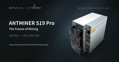 Antminer S19 and S19 Pro Officially Announced