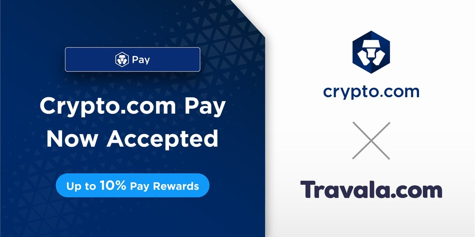 Over 1 million users of the Crypto.com App can now gain up to 40% off over 2 million hotels and accommodations in 230 countries. (PRNewsfoto/Crypto.com)