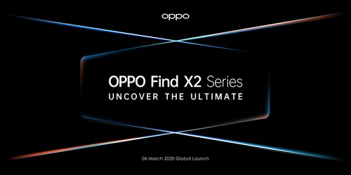 OPPO's Flagship Find X2 series to be Launched at Online Conference