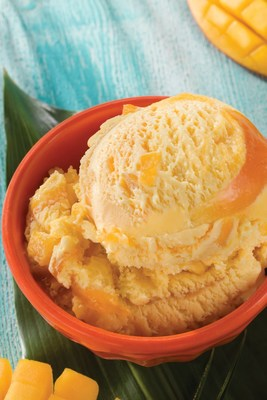 Baskin-Robbins' March Flavor of the Month, Triple Mango, maxes out on mango by combining mango ice cream and sorbet, real mango pieces and a mango ribbon. For more information or to find a store near you, visit www.BaskinRobbins.com.