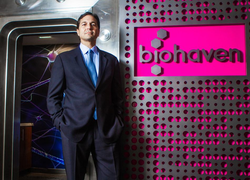 Biohaven CEO Vlad Coric M.D. (Photo Credit: Andrew Venditti)