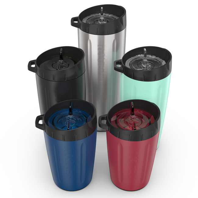 Pelican Products Dayventure Tumblers are available in 3 sizes and five colors.