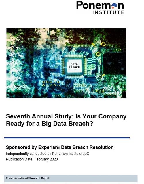 To download the report go to: www.experian.com/data-breach/2020-ponemon-preparedness.