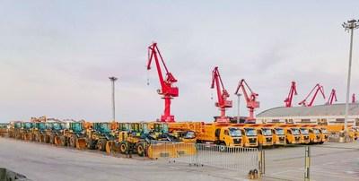 XCMG garante a entrega de centenas de produtos apesar do surto de COVID-19.
