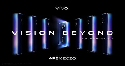 Vivo's APEX 2020 Reveals Futuristic Vision Beyond Imagination