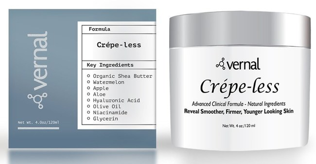 Vernal's Crepe-less skin cream