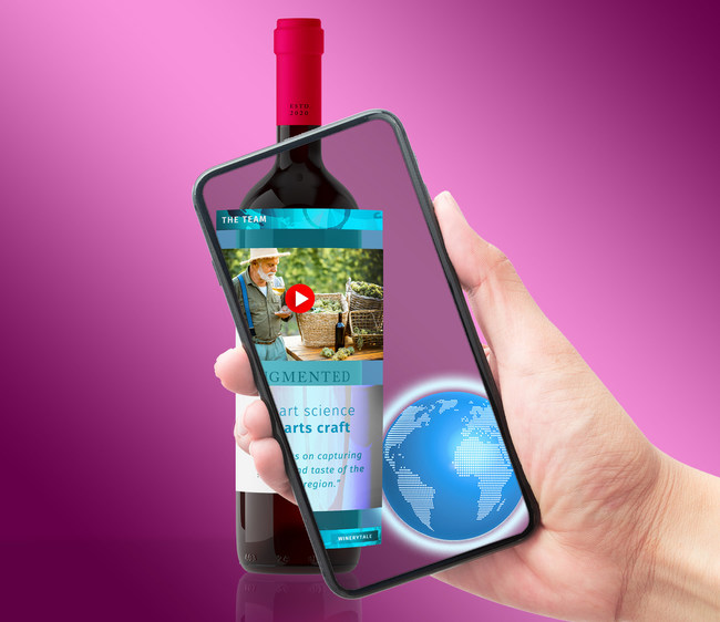 Winerytale - Augmented Reality for the wine industry