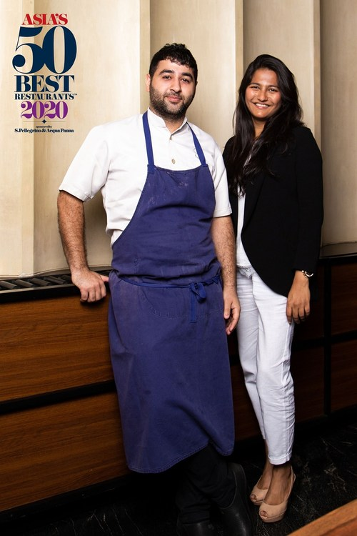 Masque in Mumbai, India, is the 2020 winner of the prestigious Miele One To Watch Award. Selected by the organisers of Asia's 50 Best Restaurants in collaboration with its regional experts, the Miele One To Watch title is presented to a restaurant that is outside the Asia's 50 Best list, but is identified as a rising star of the region. (PRNewsfoto/Asia's 50 Best Restaurants 2020)