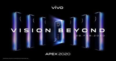 Vivo's APEX 2020 Reveals Futuristic Vision Beyond Imagination (PRNewsfoto/Vivo)