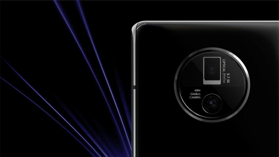 Gimbal-Stabilizing Main Camera and 5x-7.5x Continuous Optical Zoom lens (PRNewsfoto/Vivo)