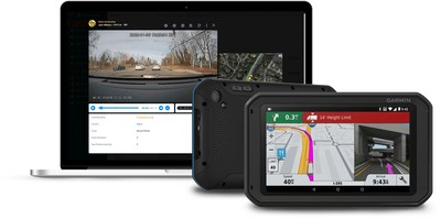 The Garmin® fleet™ 790's built-in camera now works as a dash cam with powerful video telematics when paired with FleetCam® through the mobile workforce automation app, Field Warrior®.