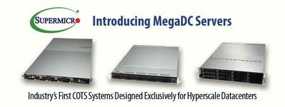 美超微发布专为超大型数据中心设计的首批商用现货系统MegaDC服务器