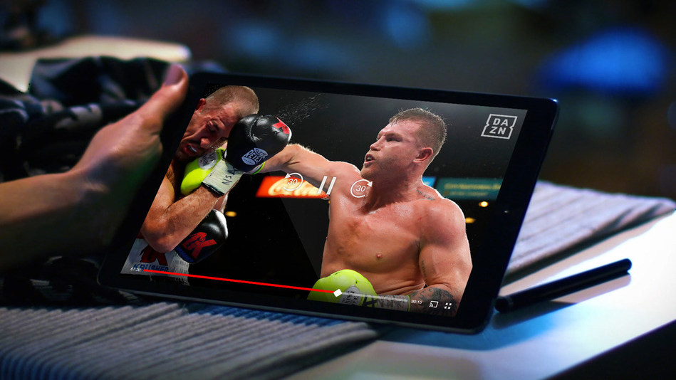 Canelo Alvarez fighting on DAZN