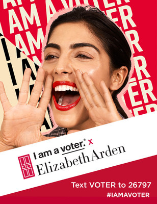 Elizabeth Arden Announces 2020 Support of I am a voter.