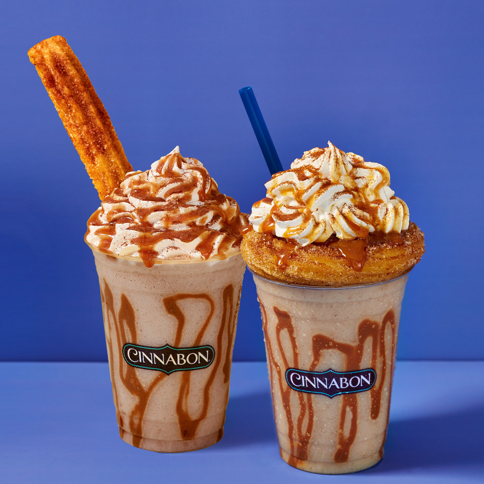 Cinnabon announced the launch of its newest frozen beverage innovation, the Churro Chillatta. The picture-perfect drink combines the cinnamon flavors of a churro with the creaminess of a Cinnabon signature blended Chillatta, then topped with whipped cream, caramel drizzle and a Churro Swirl or Churro Stick. Churro Chillatta is now available for a limited time at Cinnabon mall bakeries nationwide.