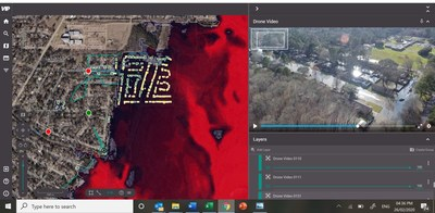 Geospatial Insight analyzes flood depth and building damage, Pearl River Flooding, Jackson, Mississippi, February 2020